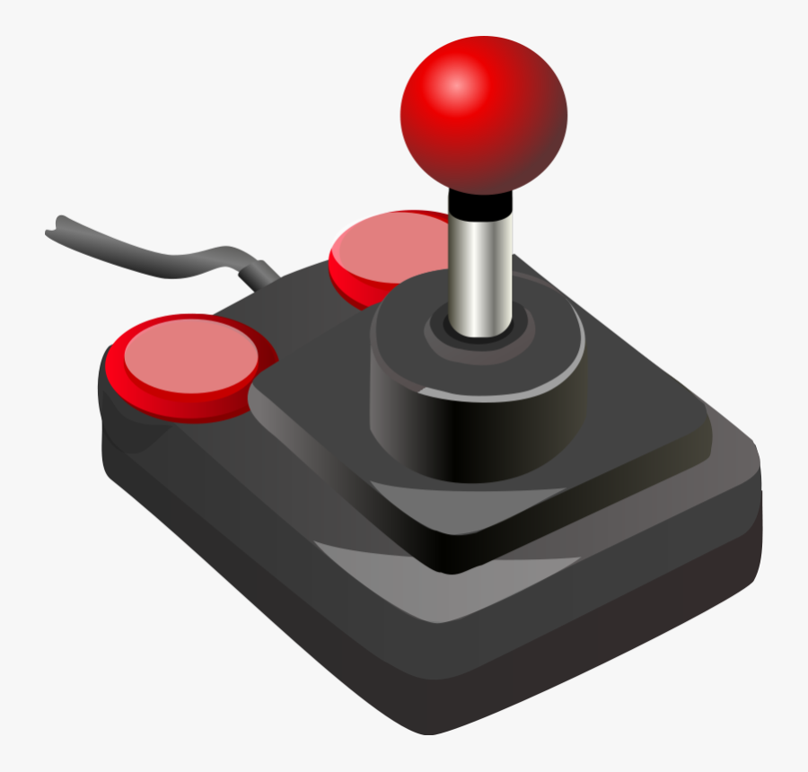Free To Use & Public Domain Game Consoles Clip Art - Joystick Video Game Controller, Transparent Clipart