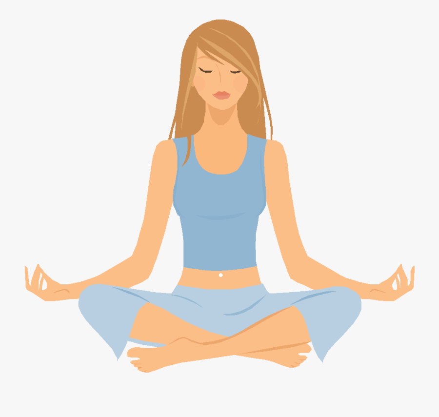 Clip Art Breathing Exercises Zen Meditation - Do Yoga Clipart, Transparent Clipart