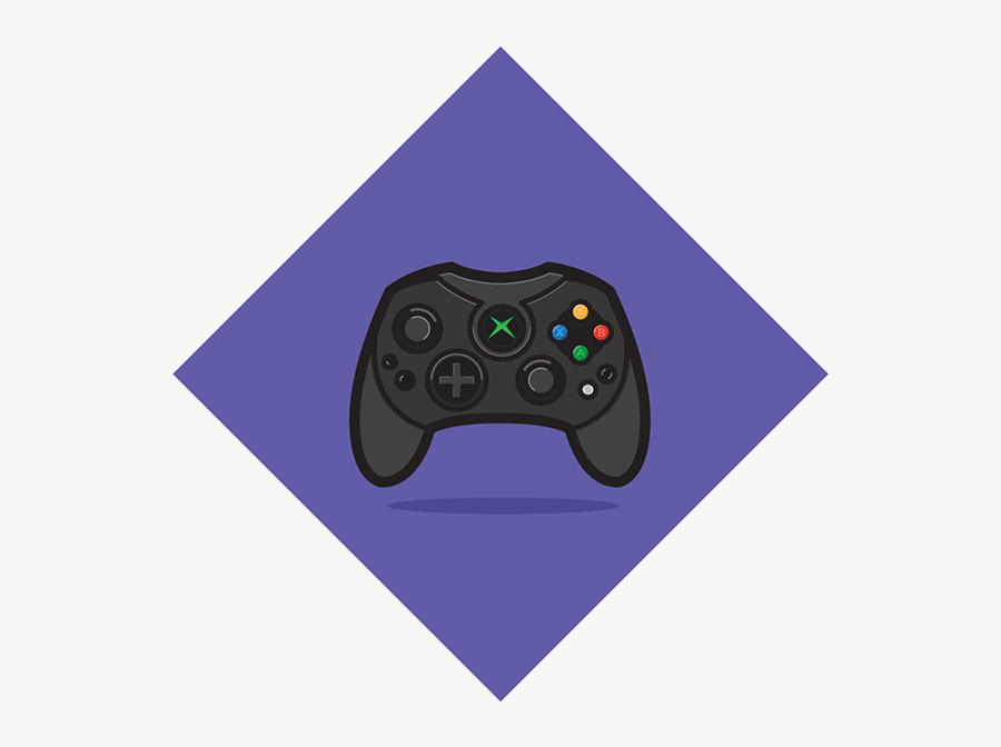 Game Controller, Transparent Clipart