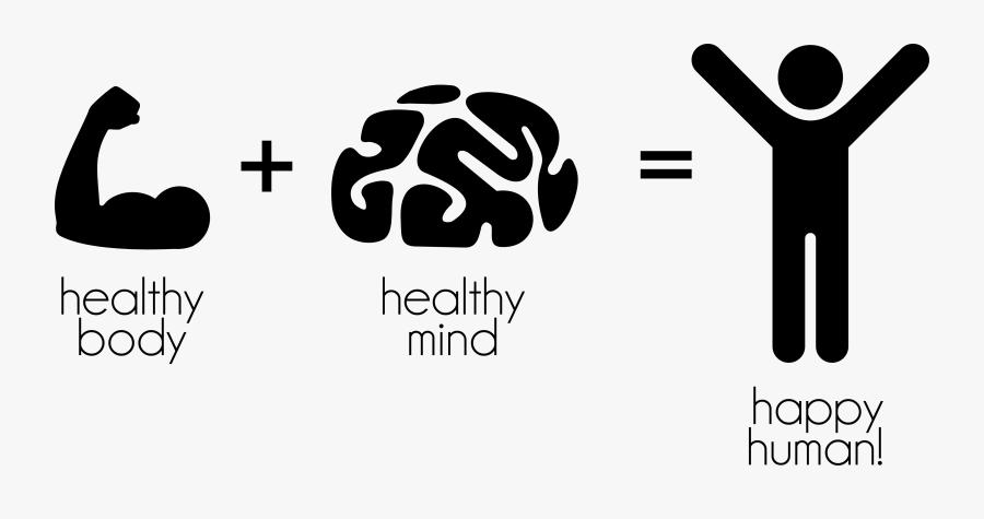Healthy Mind, Healthy Body - Healthy Mind Healthy Body Healthy Lifestyle, Transparent Clipart