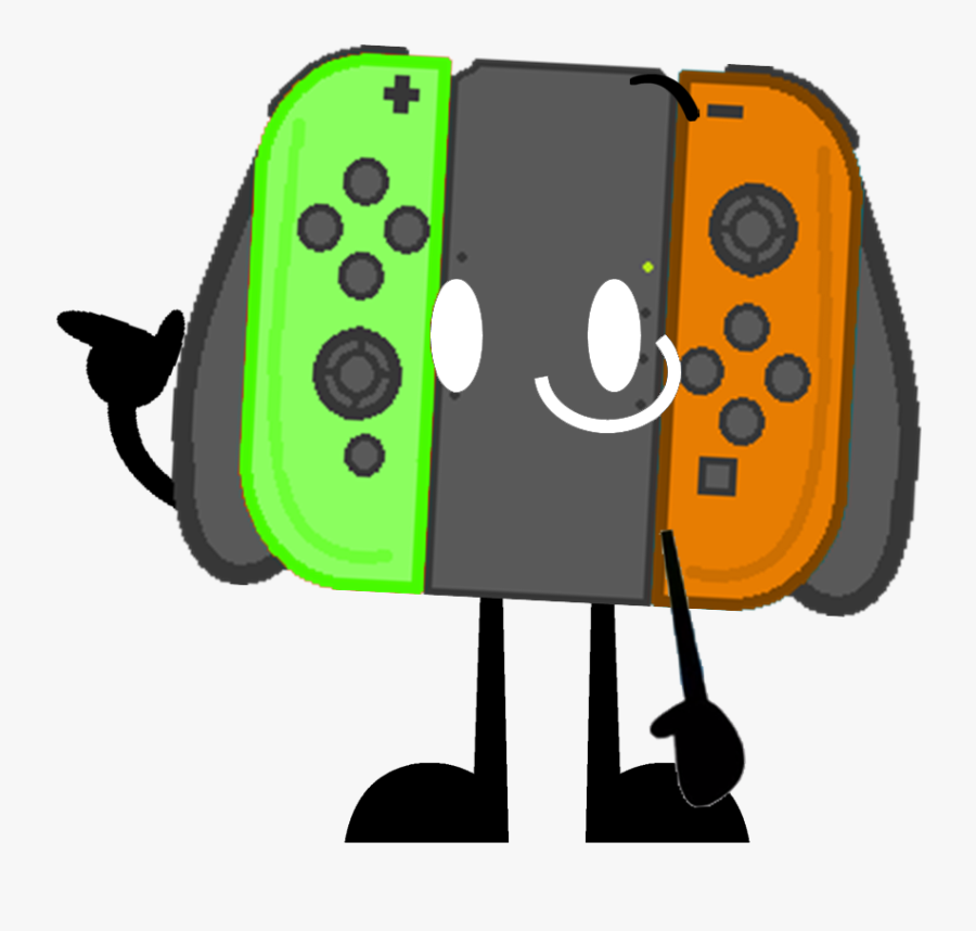 Controller Clipart Bfdi - Bfdi Game Controller, Transparent Clipart
