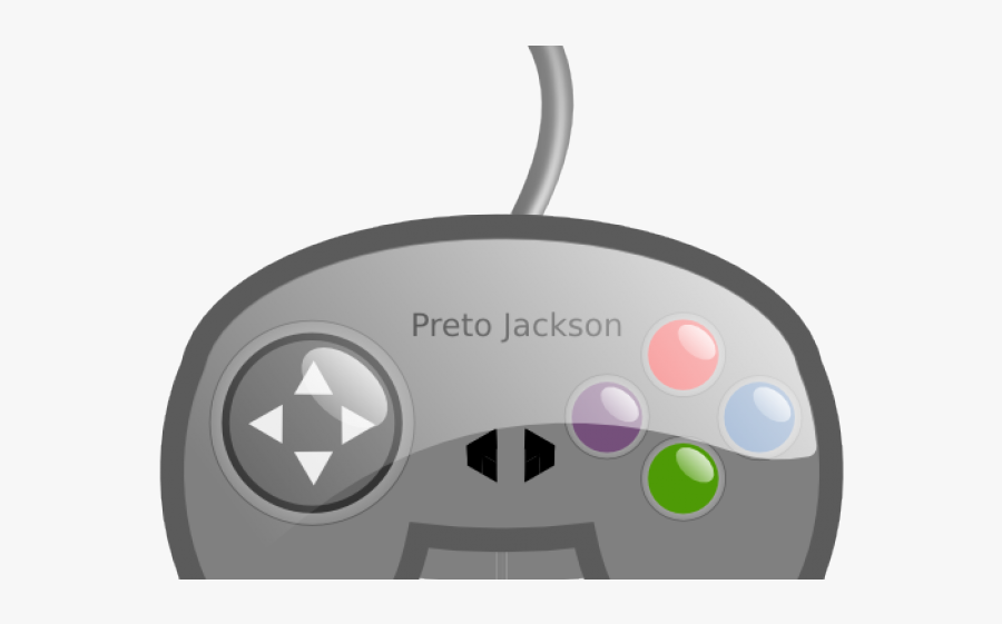 Video Game Controller Cartoon Png Transparent, Transparent Clipart