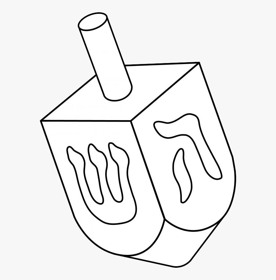 Judaism Symbols Dreidel, Transparent Clipart
