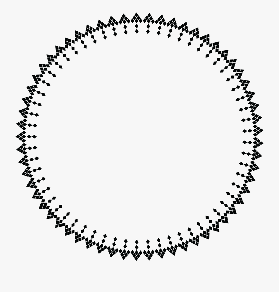 Free Of A Geometric - Circle Frame Icon Png, Transparent Clipart