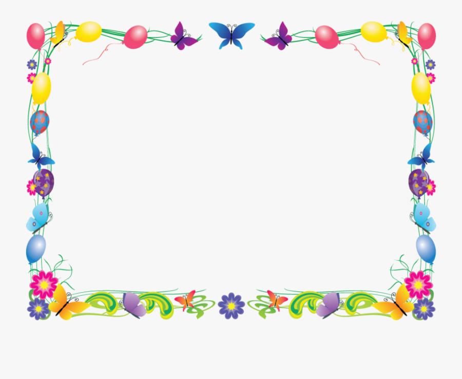 Preschool Frame Clipart Borders And Frames Pre-school - Colored Borders And Frames, Transparent Clipart