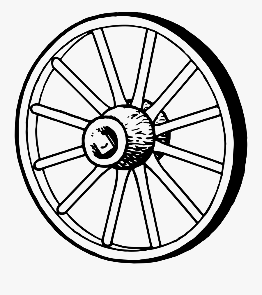 Transparent Wagon Wheel Png - Wheel And Axle Clipart Black And White, Transparent Clipart