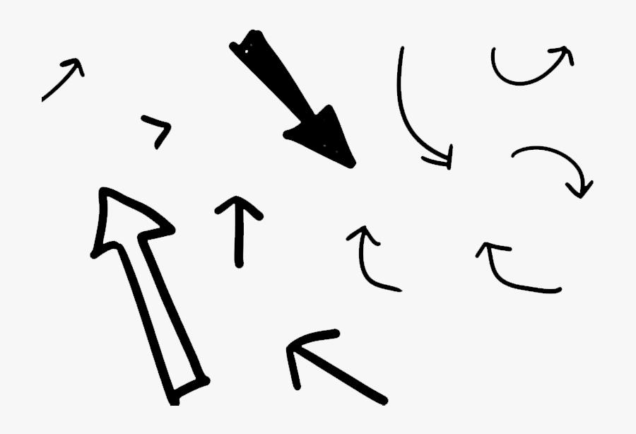 Free Background Images Png - Transparent Background Hand Drawn Arrow Arrow, Transparent Clipart
