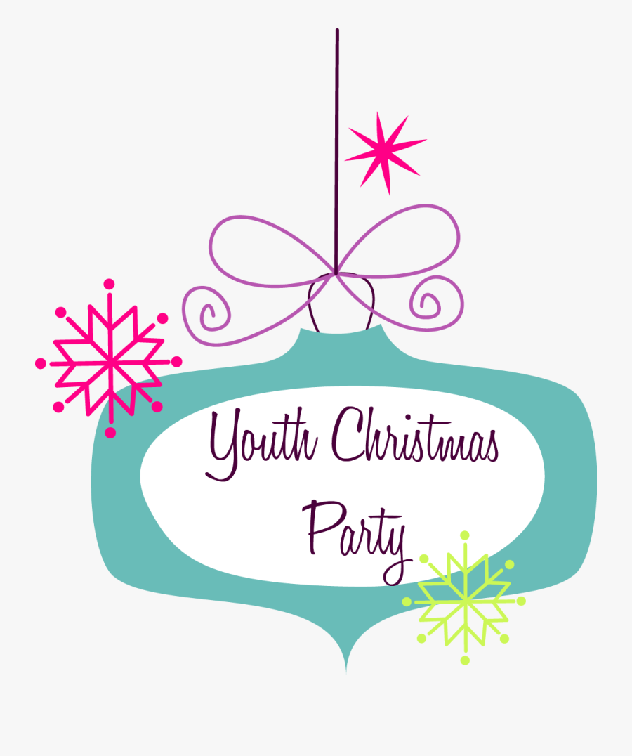 Clip Art Christmas Party Graphic, Transparent Clipart