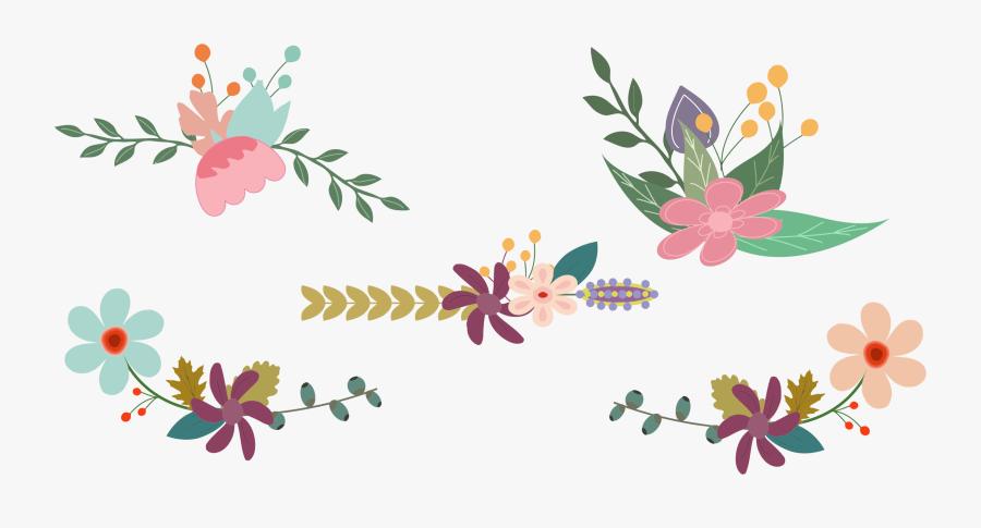 Tree,plant,flora - Vintage Floral Clipart Png, Transparent Clipart