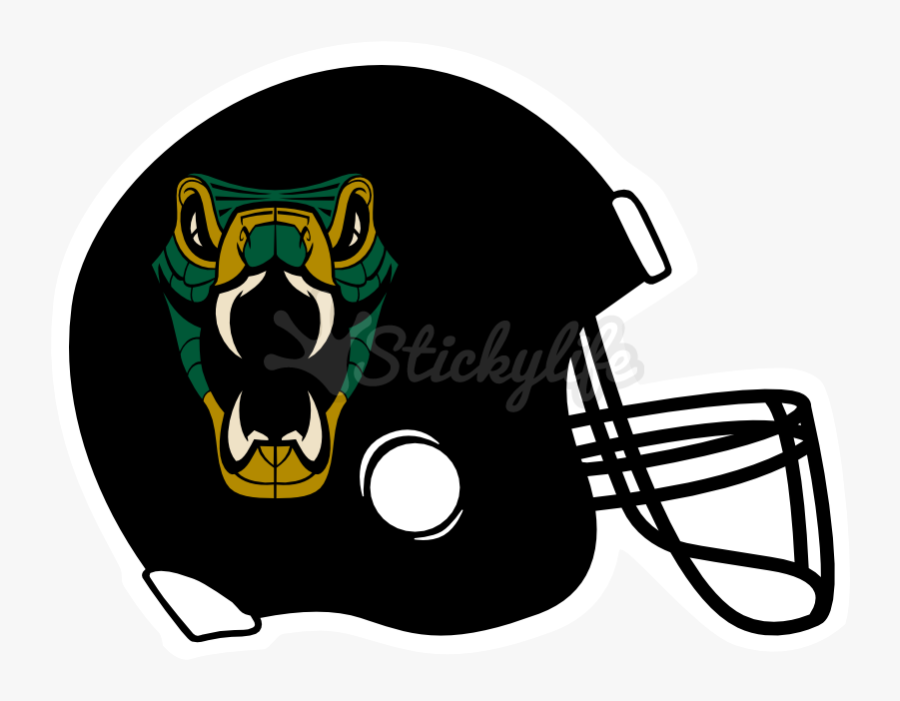 Football Helmet Decals - Red Football Helmet Clipart, Transparent Clipart