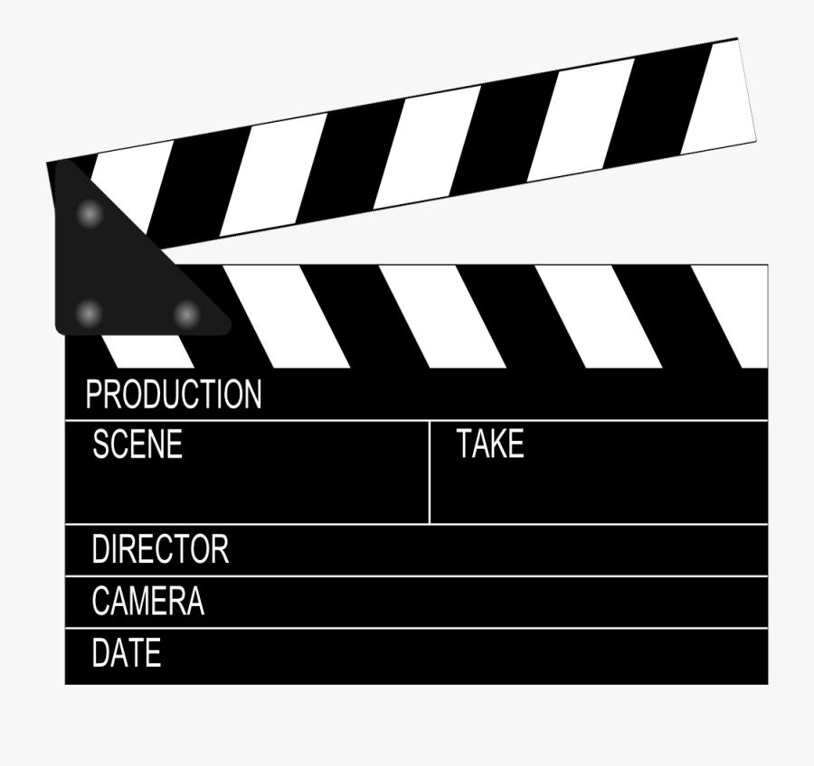 Movie Clapper Board , Transparent Cartoons - Movie Clapper Board, Transparent Clipart