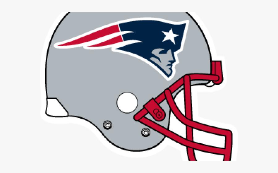 Transparent Football Helmet Clipart - New England Patriots Helmet Logo, Transparent Clipart