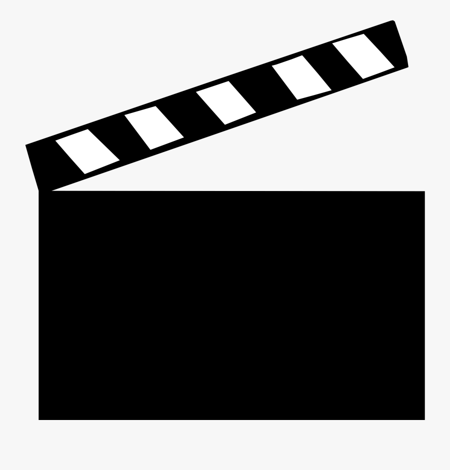 Clapper Board Refixed Icons Png - Movie Clapper Board Clipart, Transparent Clipart