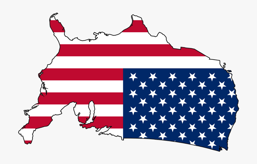 Upside Down America - United States Flag Country, Transparent Clipart