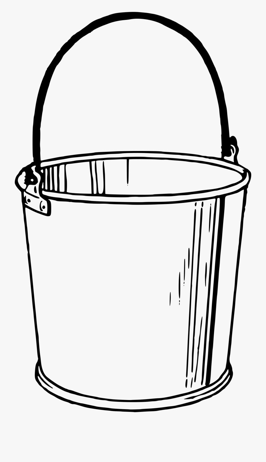 Clipart Bucket - Bucket Drawing, Transparent Clipart