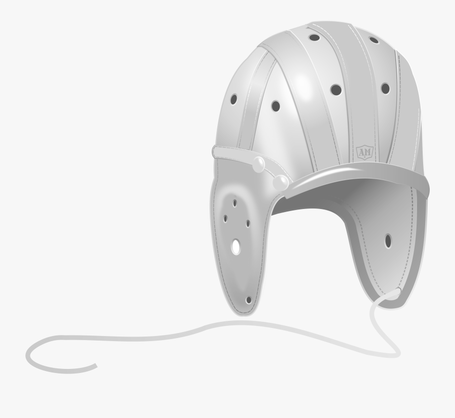 Leather Football Helmet Clipart , Png Download - Old Football Helmet Transparent, Transparent Clipart