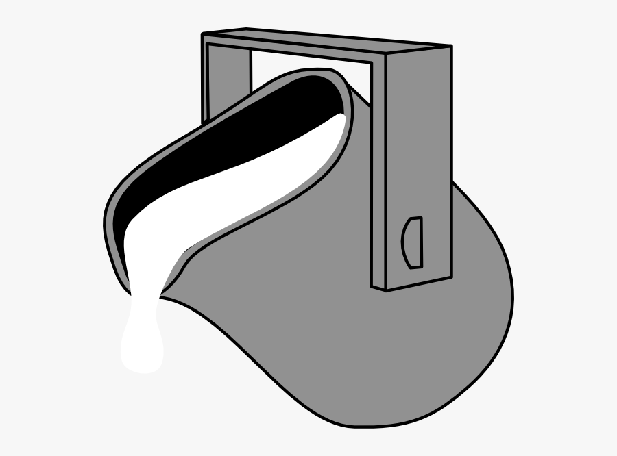 Pouring Water Bucket Clipart, Transparent Clipart