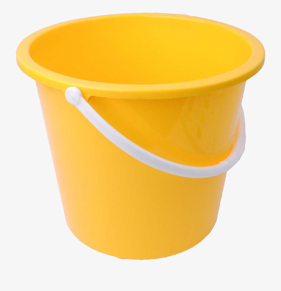 Yellow Bucket Png, Transparent Clipart