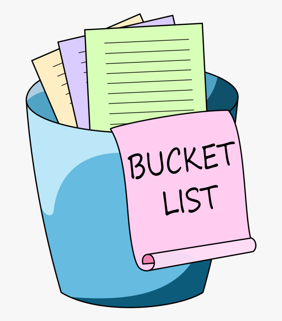 Clip Art Bucket List Clipart - Bucket List Clip Art, Transparent Clipart