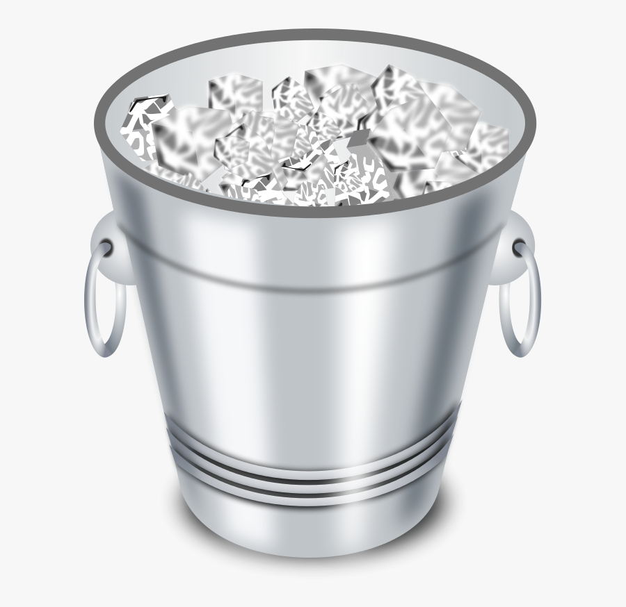 28 Collection Of Metal Bucket Clipart - Ice Bucket Png, Transparent Clipart