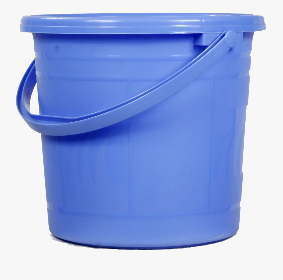 Blue,plastic,cobalt Blue,bucket,household Supply,waste - Bucket Png, Transparent Clipart