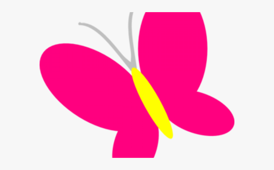 Pink Clipart Butterfly - Spring Butterfly Clip Art, Transparent Clipart