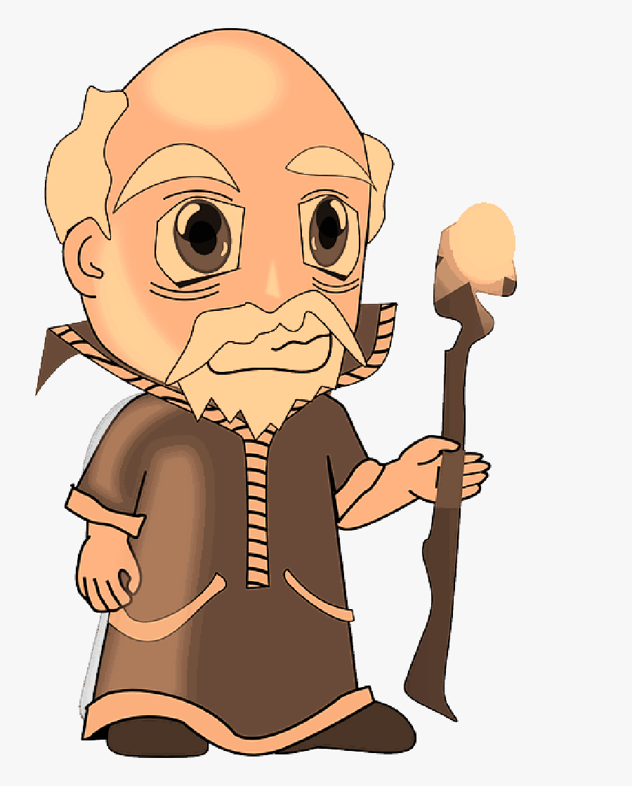 Wise Man Clipart Png , Png Download - Wise Old Man Clipart, Transparent Clipart