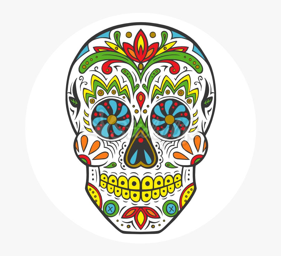 La Calavera Catrina Day Of The Dead Human Skull Symbolism - Day Of The Dead Skull Sweatshirt, Transparent Clipart