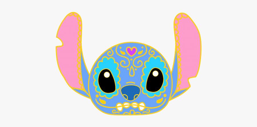 Sugar Skull Stitch, Transparent Clipart