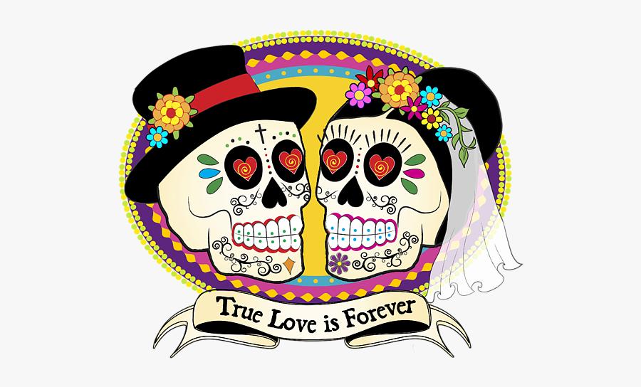 Dia De Los Muertos Novios, Transparent Clipart
