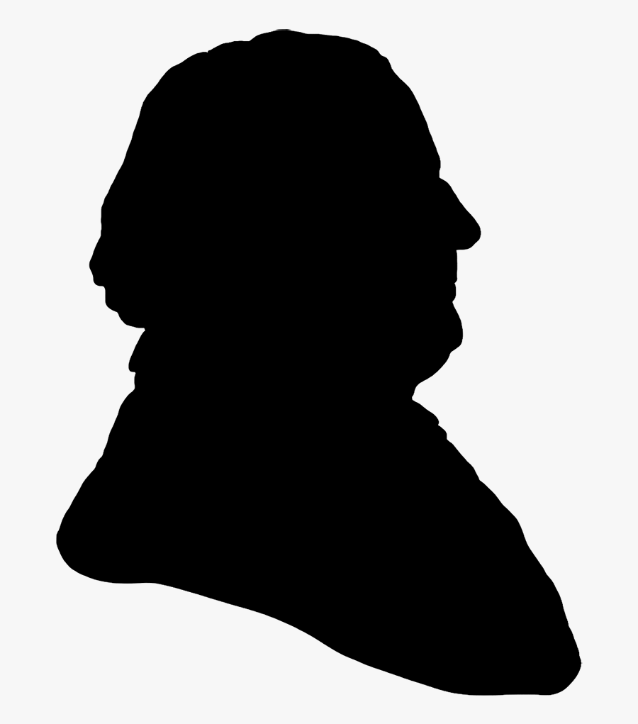 Silhouette Of An Old Man At Getdrawings - Silhouette Old Man Face, Transparent Clipart