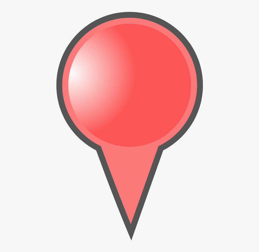 Red Map Marker - Map Marker Clipart, Transparent Clipart