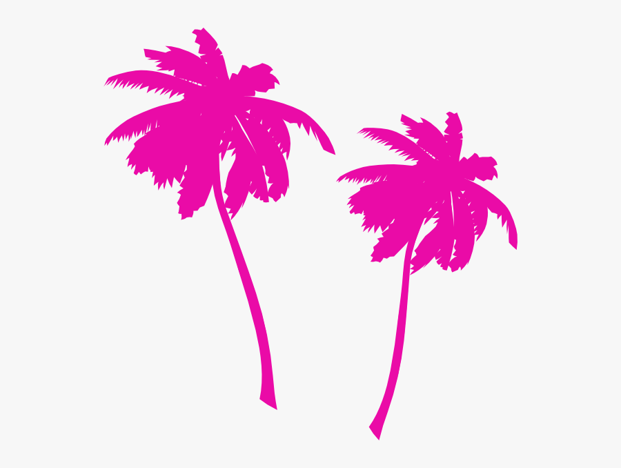 Palm Tree Vector Png, Transparent Clipart
