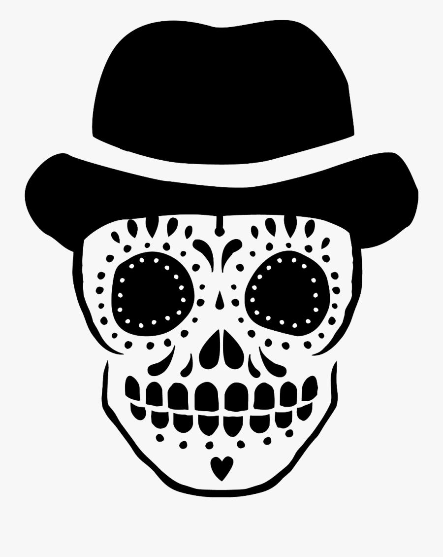 #sugarskull #sugarskulls #skull #skulls #halloween - Sugar Skull Svg Free, Transparent Clipart