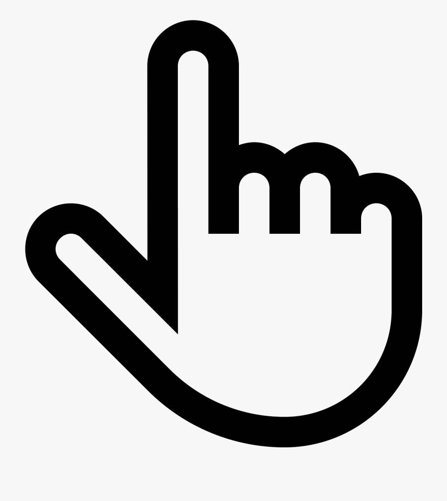 Computer Mouse Pointer Icons - Windows 10 Cursor Hand, Transparent Clipart