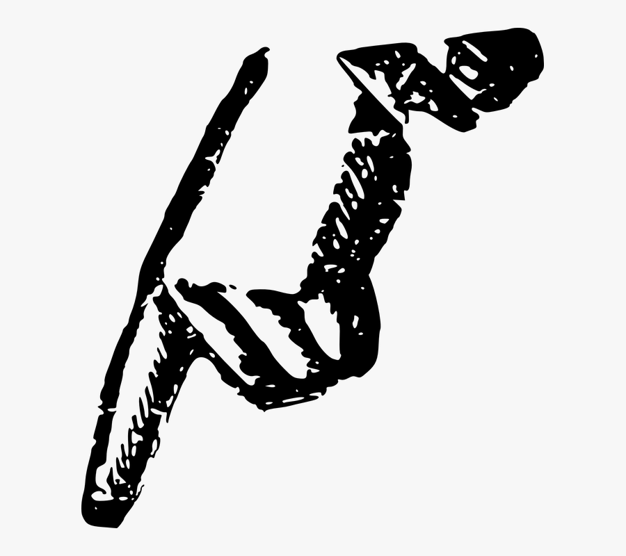 Fingers Pointing Down Png, Transparent Clipart
