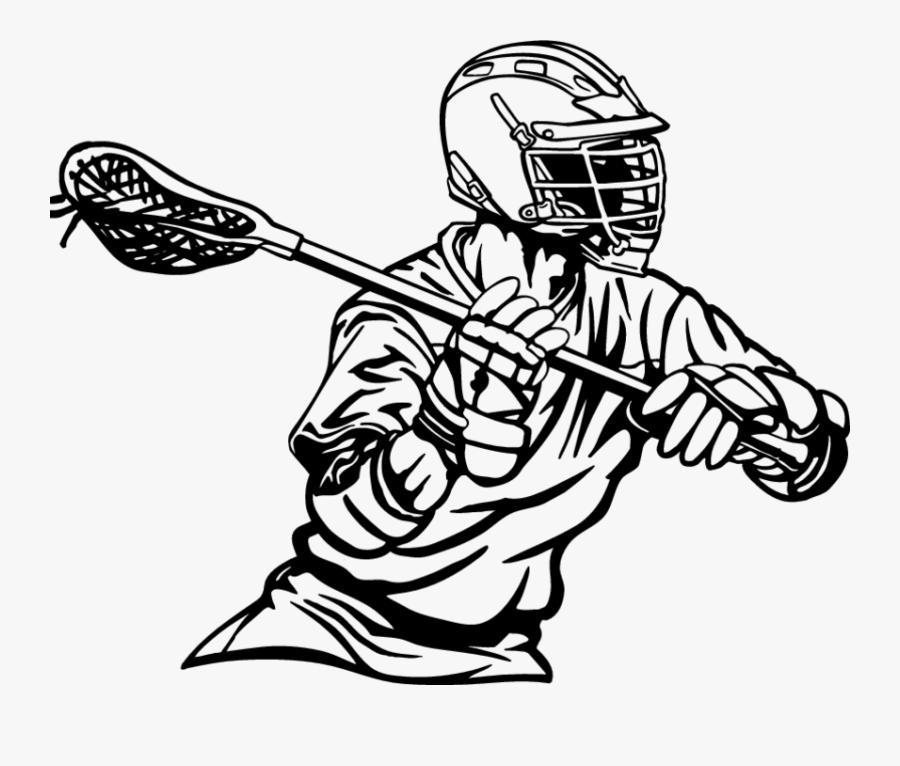 Lacrosse Sticks Lacrosse Helmet Sport Clip Art - Transparent Lacrosse Stick Png, Transparent Clipart