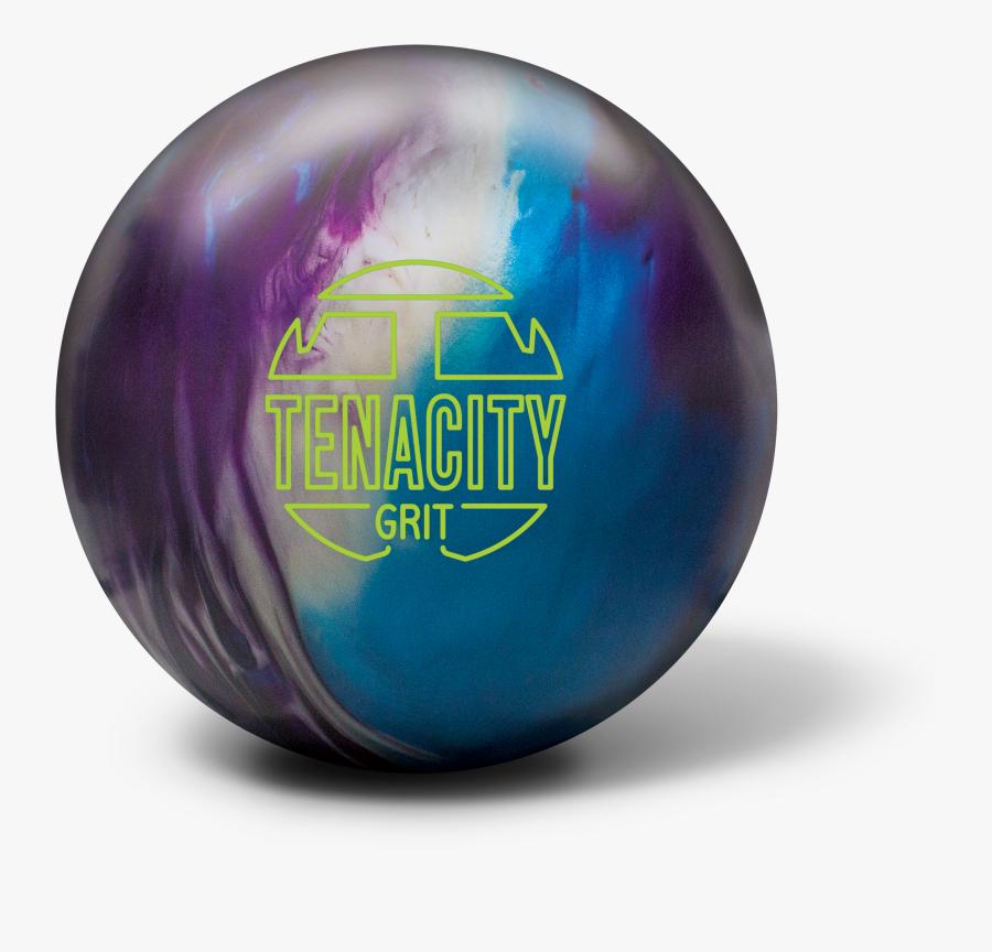 Transparent Single Bowling Pin Clipart - Tenacity Grit Bowling Ball, Transparent Clipart