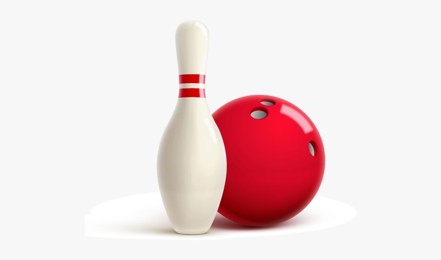 Cb Bowlathon - Bowling Pin And A Ball Png, Transparent Clipart