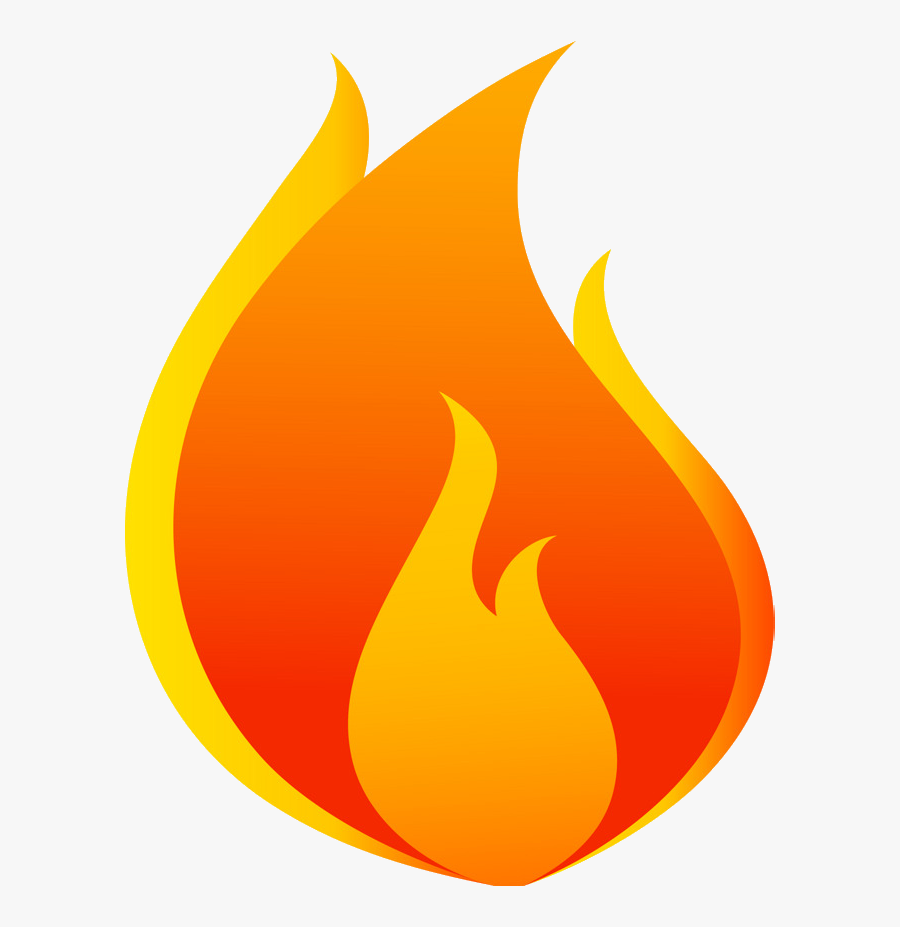 Fire Cartoon Flame Chart Clipart Flames Shape And In - Clipart Flames, Transparent Clipart