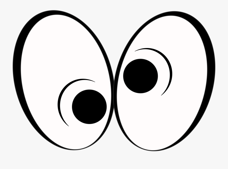 Cartoon Image Of Eyes Looking Funny Cartoon Eyes Png Free