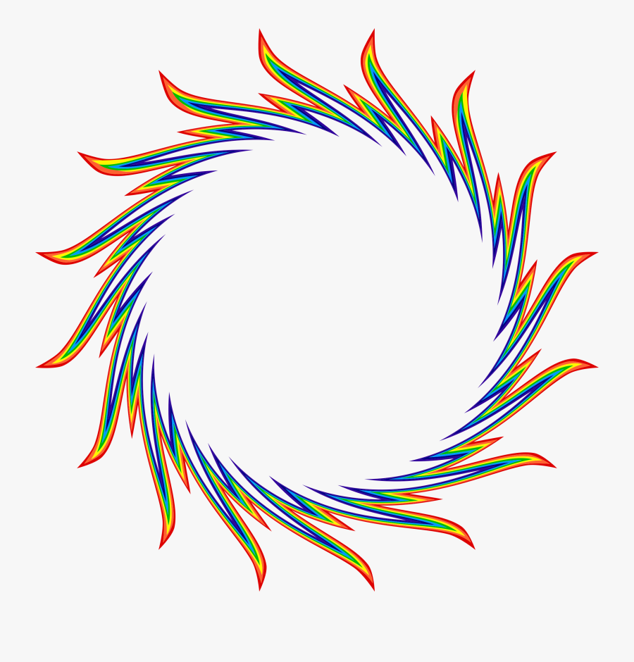 Ring Of Flames Clip Arts - Circle Of Fire Png, Transparent Clipart