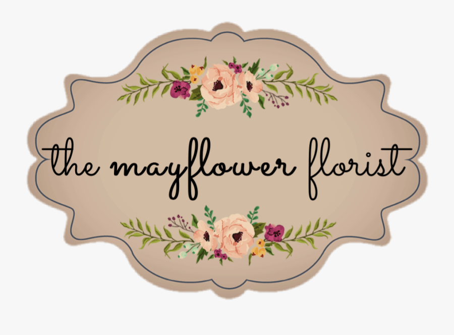The Mayflower Florist - Floral Logo Design Mayflower, Transparent Clipart