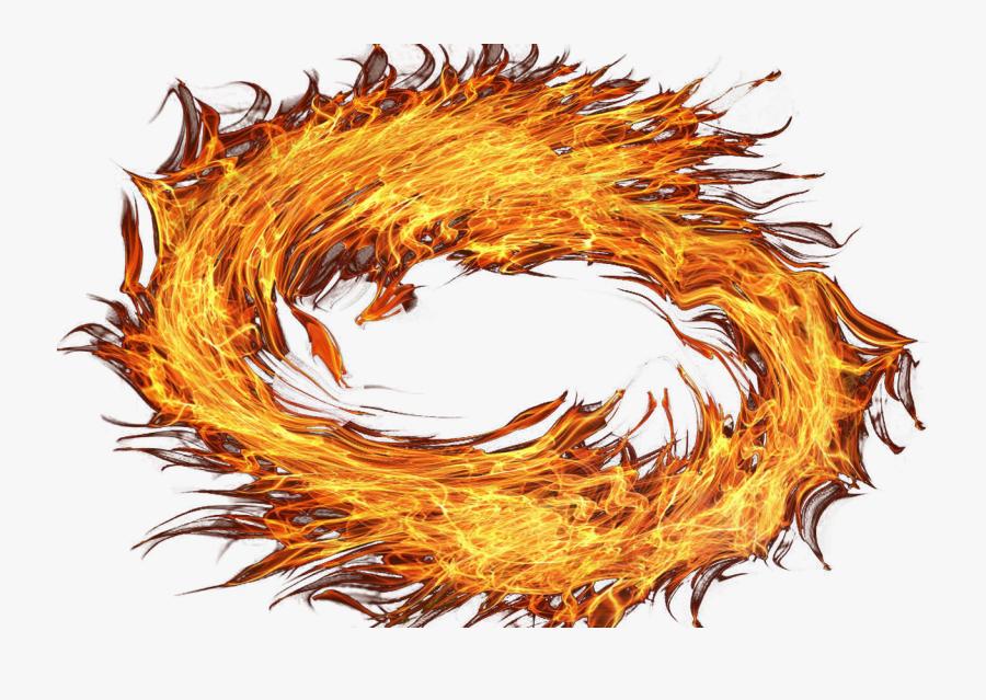 Transparent Png Circle Of Fire, Transparent Clipart