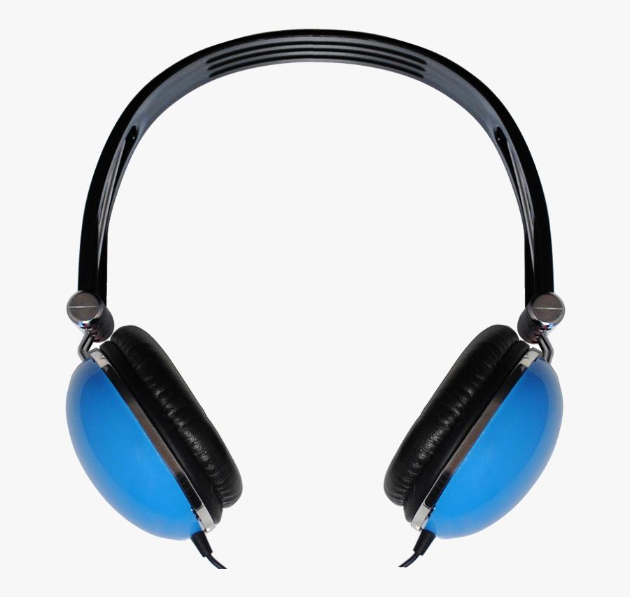 Music Headphone Png Image - Png Image Blue Headphones Png, Transparent Clipart