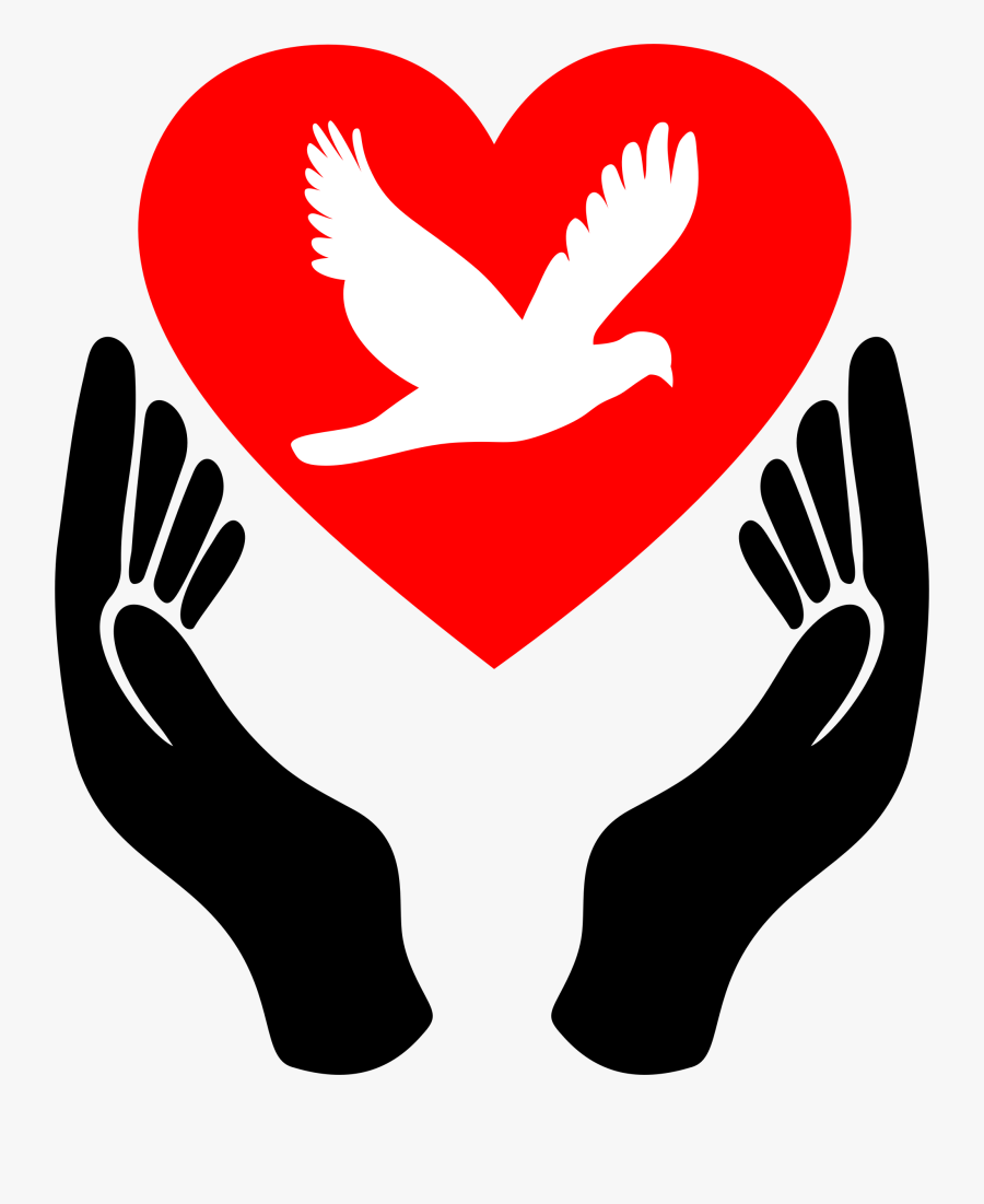 Peace Clipart Peaceful Place - Symbol Of Love And Peace, Transparent Clipart