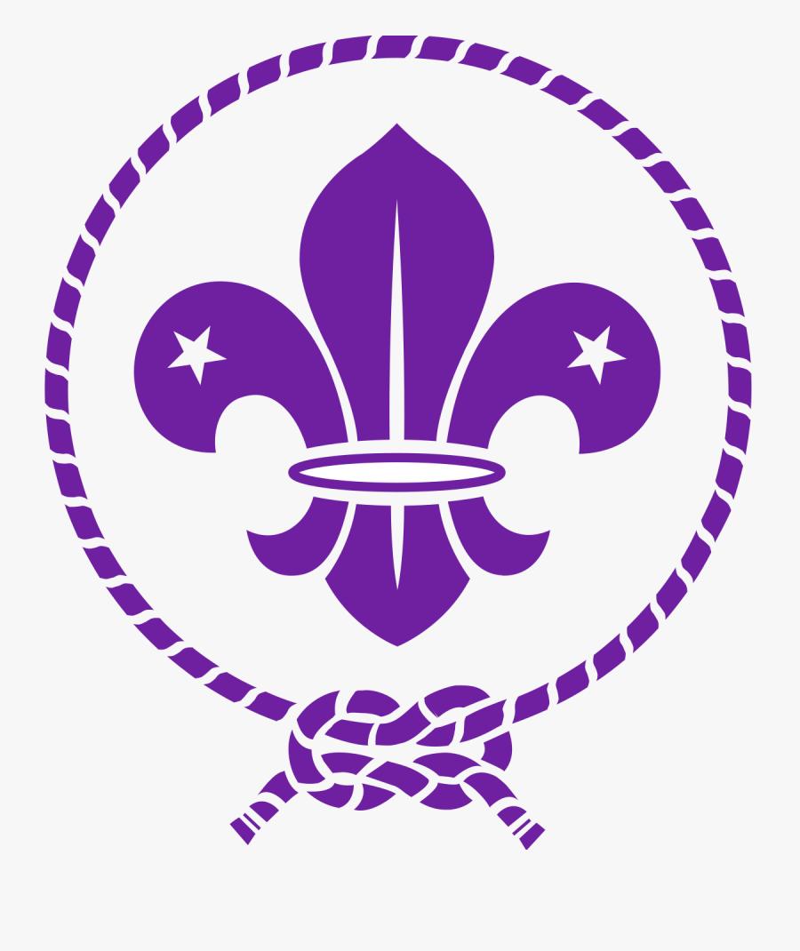 Fleur De Lis Cross Clipart - Scout Fleur De Lis, Transparent Clipart