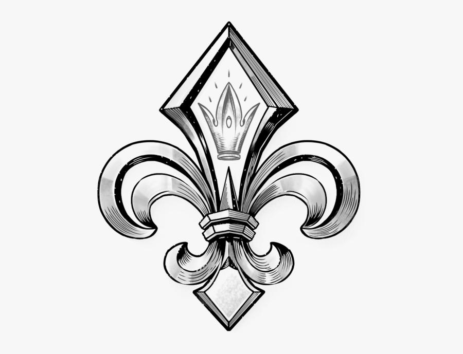 Fleur De Lys - Fleur De Lys Royal, Transparent Clipart