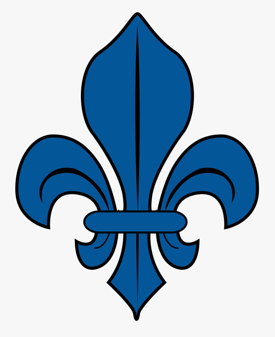 Blue Fleur De Lys - Fleur De Lys Png, Transparent Clipart