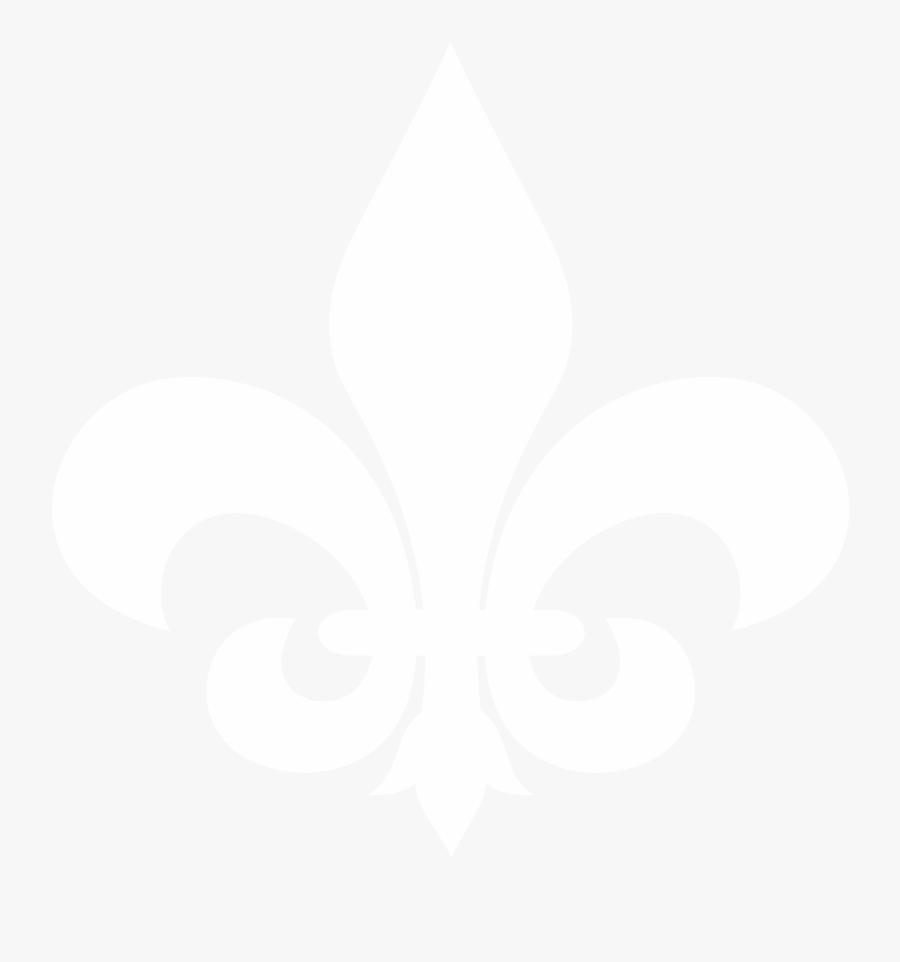 Fleur De Lis Tea Room Menu - Fleur De Lis White, Transparent Clipart